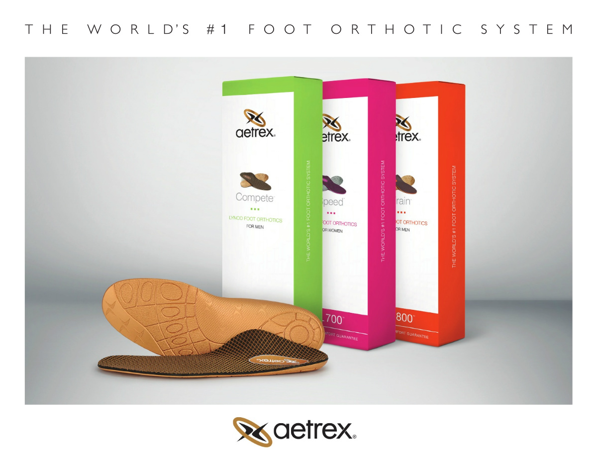 Aetrex Orthotics 2018
