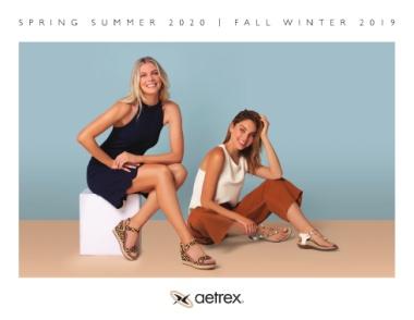 Aetrex Footwear Sping Summer 2020 | Fall Winter 2019